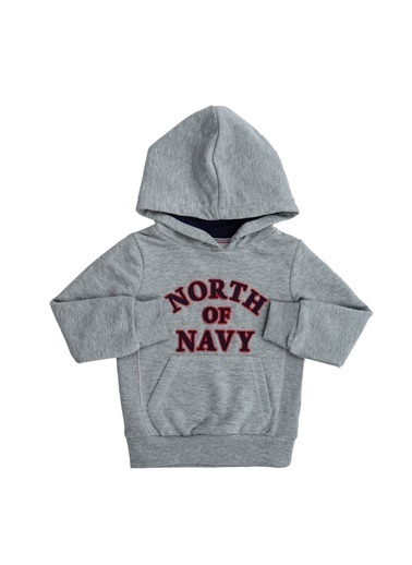 North Of Navy Sweatshirt Gri